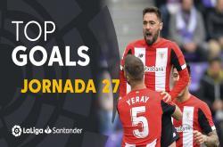 Tổng hợp bàn thắng vòng 27 La Liga 2019/20