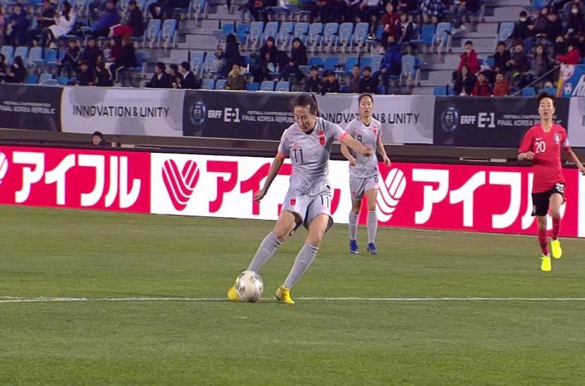 Nữ Hàn Quốc 0-0 Nữ Trung Quốc (Giải VĐ bóng đá Đông Á 2019)