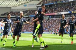 Brighton 1-4 Man City (Vòng 38 Ngoại hạng Anh 2018/19)