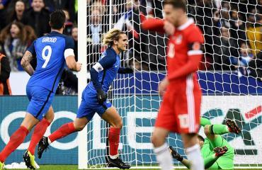 Pháp 2-0 Xứ Wales (Giao hữu Quốc tế 2017)