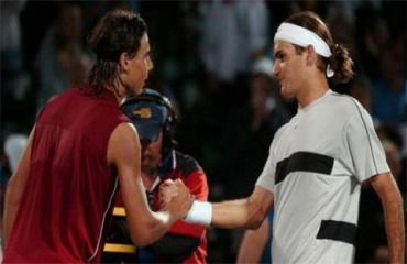 Nadal từng 'làm thầy' Federer khi mới 17 tuổi