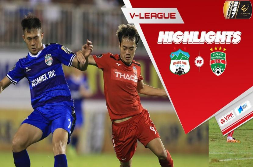 HAGL 1-1 Bình Dương (Vòng 10 V-League 2019)