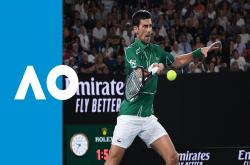 Djokovic 3-0 Federer (Bán kết Australia Open 2020)