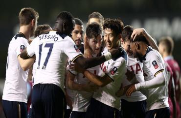 Tottenham 2-0 Aston Villa (vòng 3 FA Cup 2017)