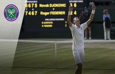 Djokovic 3-2 Federer (Chung kết Đơn nam Wimbledon 2019)