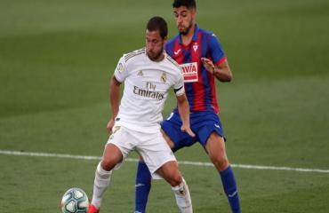 ĐIỂM NHẤN Real Madrid 3-1 Eibar: Hazard và Benzema toả sáng, Real giải quyết trận đấu ngay trong hiệp 1