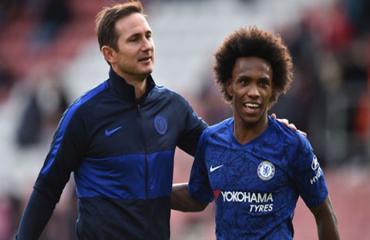 Lampard muốn Chelsea sớm 'trói chân' Willian