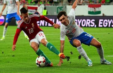 Hungary 0-3 Nga (Giao hữu Quốc tế 2017)