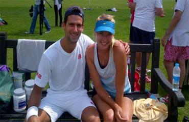Sharapova và buổi hẹn hò đầu tiên nhớ đời với Djokovic