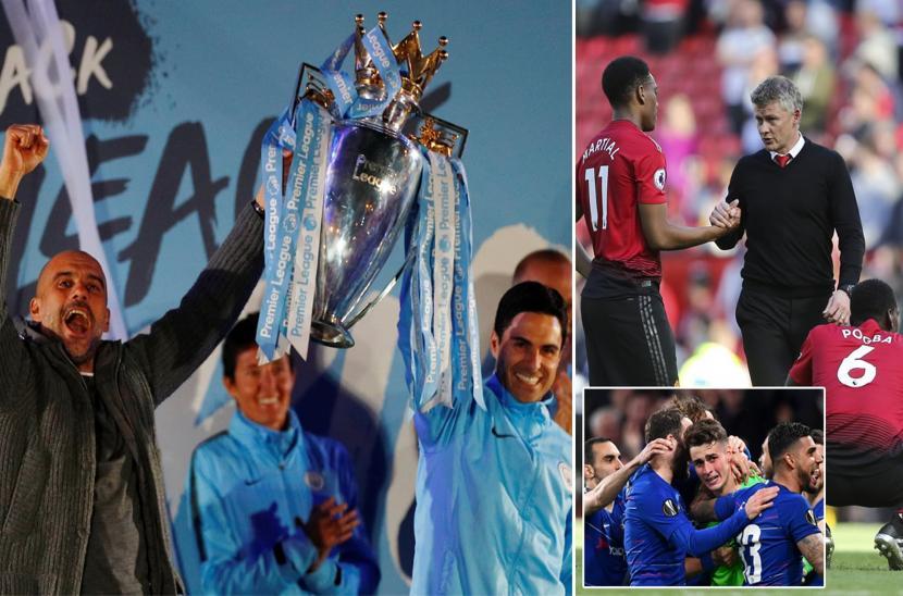Những hình ảnh đáng nhớ nhất mùa giải Ngoại hạng Anh 2018/19