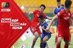 Tổng hợp vòng 21 V-League 2019