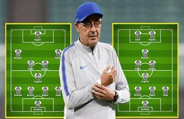 Sarri lo lắng Juventus thừa mứa tiền đạo