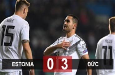 Estonia 0-3 Đức: Guendogan rực sáng, Xe tăng vượt ải
