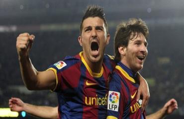 David Villa phủ nhận xung đột với Messi