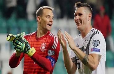 Thấy gì từ chiến thắng của Đức trước Estonia?