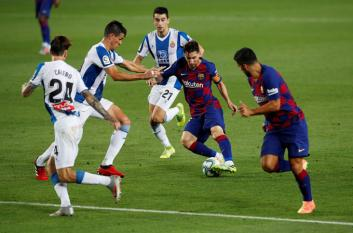 Barca 1-0 Espanyol: Griezmann dần lấy lại tự tin, Espanyol xuống hạng
