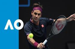 Roger Federer 3-0 Steve Johnson (Vòng 1 đơn nam Australia Open 2020)