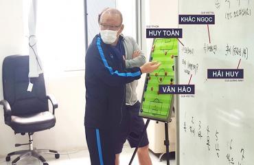'HLV Park Hang Seo đang muốn thử nghiệm cầu thủ mới'