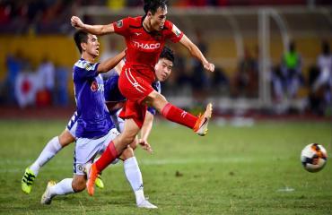 Hà Nội FC 1-1 HAGL (Vòng 16 V-League 2019)
