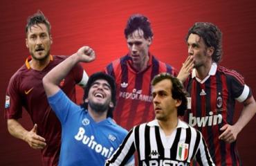 10 cầu thủ vĩ đại nhất lịch sử Serie A