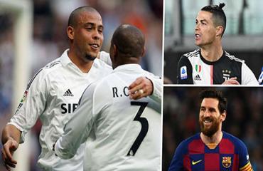 Cristiano Ronaldo và Messi đều không có cửa trước Ronaldo 'béo'