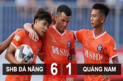Đà Nẵng 6-1 Quảng Nam FC: HLV Huỳnh Đức được cứu