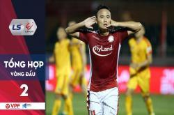 Tổng hợp vòng 2 V-League 2020