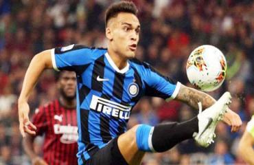 Inter: Lautaro Martinez chờ mành lưới Roma