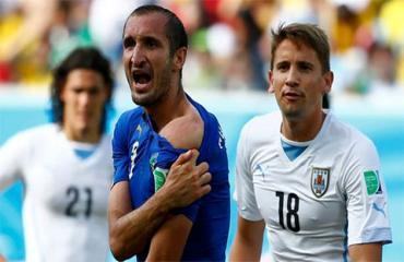 Chiellini: 'Suarez cắn tôi là đúng'