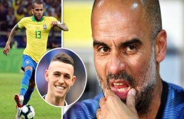 Pep khen Foden hay hơn Messi, phũ phàng nói không với Alves