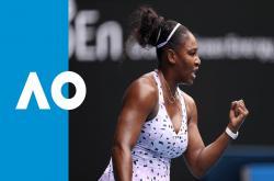 Serena Williams 2-0 Anastasia Potapova (Vòng 1 đơn nữ Australia Open 2020)