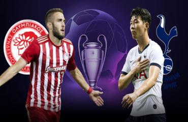 Olympiakos vs Tottenham, 23h55 ngày 18/9: Xa nhà, gà chỉ là... gà