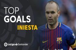 10 bàn thắng đẹp của Andres Iniesta tại La Liga