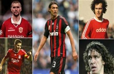 Top 10 đội trưởng vĩ đại nhất lịch sử bóng đá thế giới