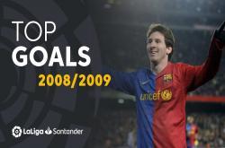 Bàn thắng đẹp mùa giải La Liga 2008/09