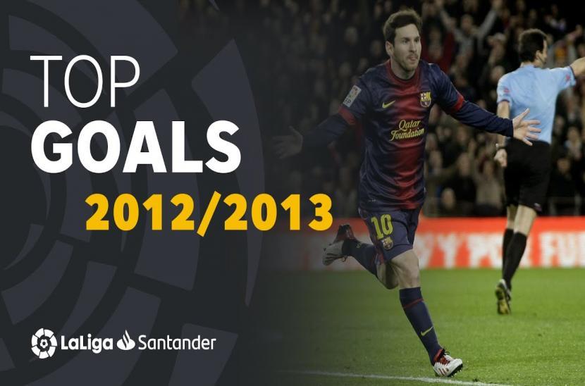 Bàn thắng đẹp mùa giải La Liga 2012/13
