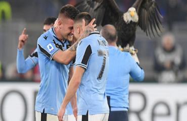Lazio đua Scudetto một cách... vô tư