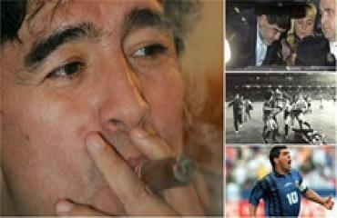 Xác sống, ma túy, bù nhìn và những câu nói bất hủ của Maradona
