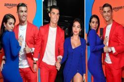 Cristiano Ronaldo nổi bật, bạn gái mặc táo bạo tại MTV EMAs 2019