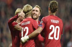 Đan Mạch 5-1 Georgia (Vòng loại Euro 2020)