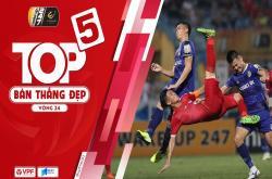 Bàn thắng đẹp vòng 24 V-League 2019