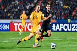 U23 Australia 2-1 U23 Thái Lan (Bảng A U23 châu Á 2020)