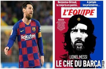 Messi thành Che Guevara của bóng đá sau quyết định đầy nhân văn