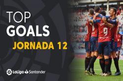 Tổng hợp bàn thắng vòng 12 La Liga 2019/20