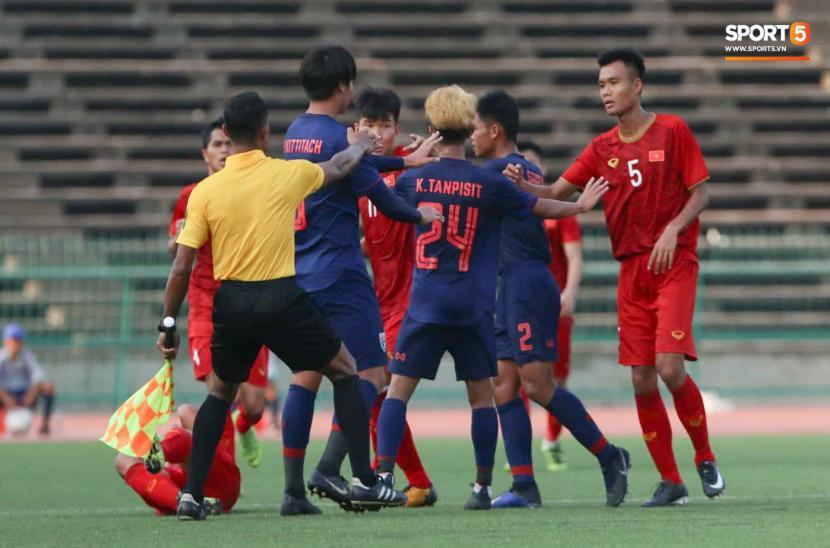 U22 Việt Nam 0-0 U22 Thái Lan (Bảng A U22 Đông Nam Á 2019)