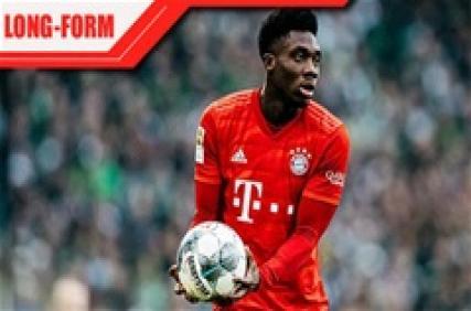 Alphonso Davies: Quái thú mới bên hành lang trái Bayern