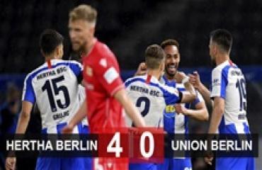 Hertha Berlin 4-0 Uinon Berlin: Dệt mộng trời Âu