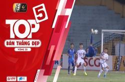 Top 5 bàn thắng đẹp vòng 25 V-League 2019