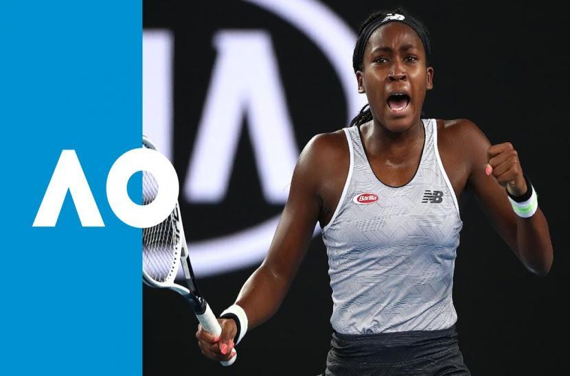 Cori Gauff 2-0 Venus Williams (Vòng 1 đơn nữ Australia Open 2020)