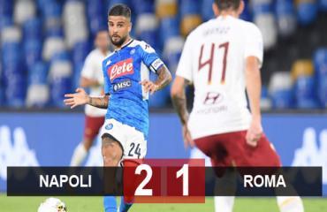 Napoli 2-1 Roma: Hâm nóng cuộc đua vào Top 6